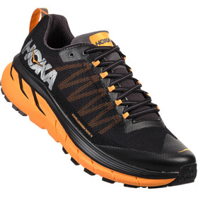 Hoka One One Challenger Atr 4 Running Shoes Men black/kumquat